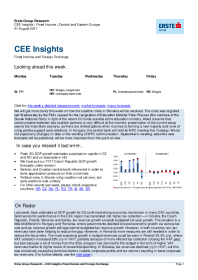 Erste Group - CEE Insights | Fixed Income | Central and Eastern Europe