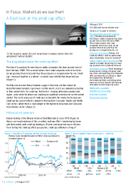 Barclays - A fresh look at the small cap effect