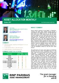 BNP Paribas - Asset Allocation Monthly