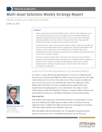 JP Morgan - Multi-Asset Solutions Weekly Strategy Report