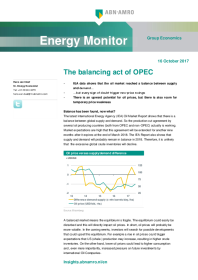 Abn Amro - The balancing act of OPEC
