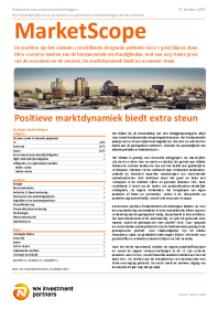NN Investment Partners - Positieve marktdynamiek biedt extra steun