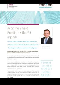 Robeco - Avoiding a hard Brexit tops the EU agenda