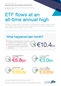 Lyxor - ETF flows at an all-time annual high