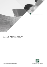 UBP - Global tactical asset allocation