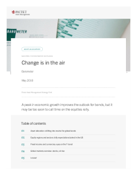 Pictet Asset Management - Change is in the air
