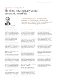 UBS - Thinking strategically about emerging markets
