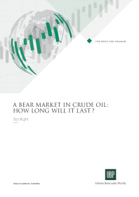 UBP - A bear market in crude oil: how long will it last?