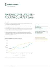 Northern Trust - Fixed Income Update