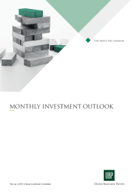 UBP - Monthly Investment Outlook