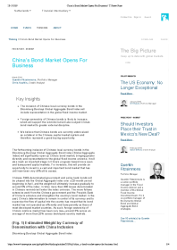 T. Rowe Price - China's Bond Market Opens For Business
